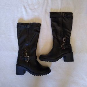 New Maurices Black Motorcycle Boots
